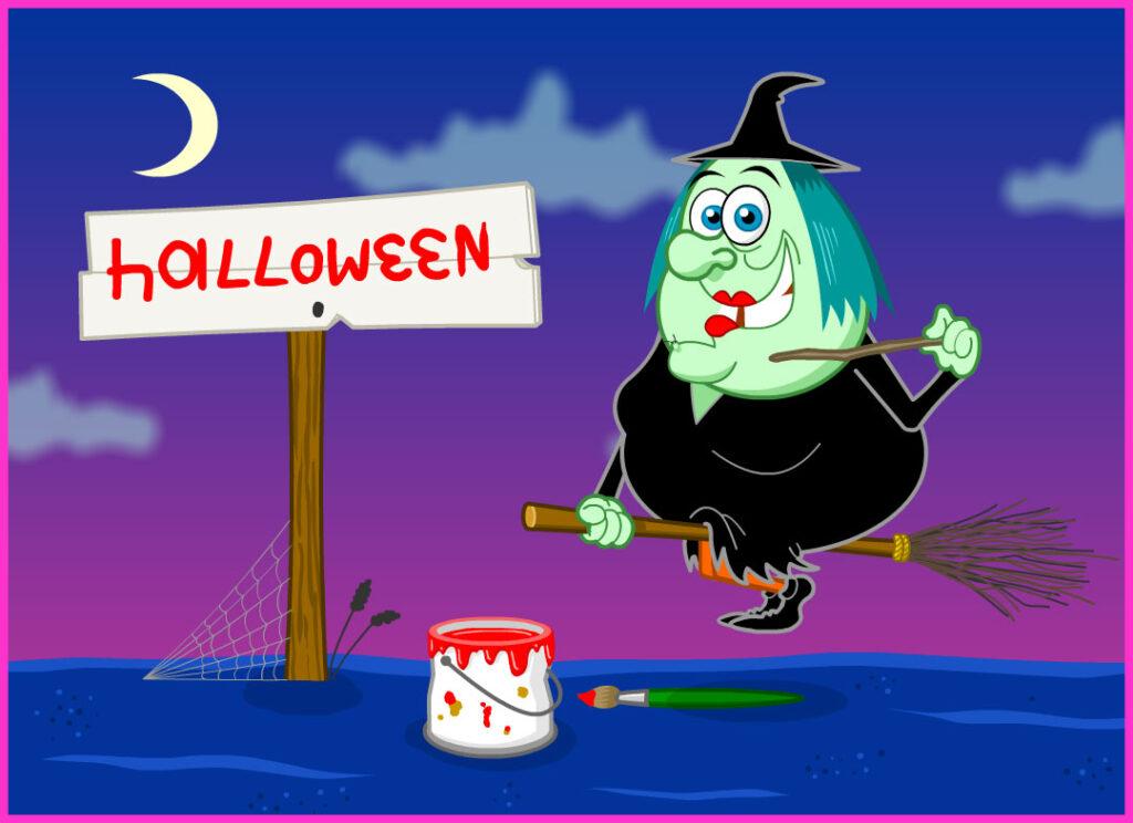 Magical Halloween Sign eCard